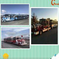 大型电动车无轨观光小火车游乐设备公园广场户外室内大型电动火车