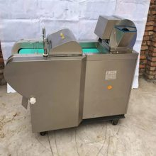 青菜切段机 切条机厂家 启航不锈钢多功能切菜机