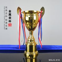 职工运动会奖杯 拔河比赛大号金属奖杯 阳泉奖杯奖牌定做找哪家