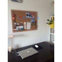 从化软木料采购M苏州移动屏风软木布板M软木板照片墙