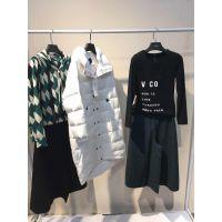 唐旗外贸服装城品牌折扣女装冬品牌折扣店加盟维雪儿大衣多种风格多种面料