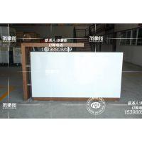 电信业务受理台前台柜系列 新款木纹白色前台柜厂家直销