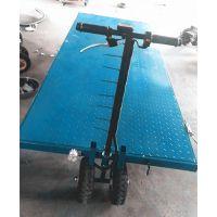 滁州市 电动平板运输车 货物电动手推车 可定制