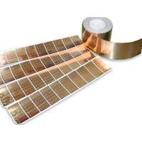 供应铜箔胶带 天线加强铜箔胶带 焊锡触摸电磁信号屏蔽EMI防静电