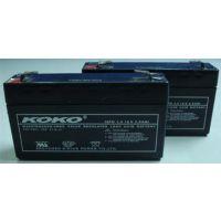 KOKO蓄电池6GFM50KOKO蓄电池12V50AH厂家价格|电梯后备