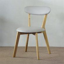 广州北欧甜品店实木椅子定制