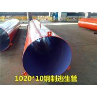 920钢制隧道逃生管国润新材钢管厂家