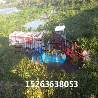 打捞清理水葫芦、水面水草收割机械、河道清洁船
