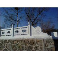 苏省南京水泥仿石艺术栏杆 仿木横梯栏杆加工