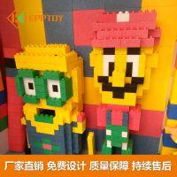 EPP环保大积木 儿童玩具 动画人物模型 卡通玩偶积木模型 艾可EPP积木