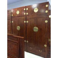 东光老榆木卧室成套家具 XH-036古典中式顶箱柜