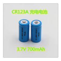 厂家直销 17335/3.7V/700mah锂电池/红外测温仪电池/LED手电筒电