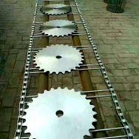 不锈钢链杆式网带厂家 食品输送机配件乾德提供