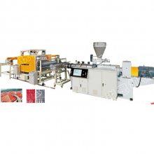 专业生产ASA合成树脂瓦设备 PVC塑料彩钢瓦琉璃瓦、复古瓦挤出机