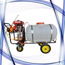 养殖场消毒专用打药机视频 牵引式果园喷药机 庄稼除草灭虫喷雾器