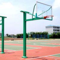 固杰 方管固定透明板篮球架,体育器材厂家