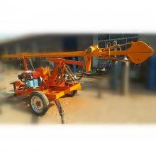 长沙污水井清淤机器 全液压 洪鑫清掏污水井的小型机器销售