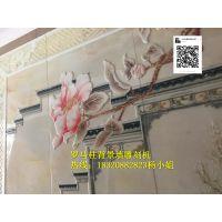 瓷砖背景墙雕刻机-广东瓷砖背景墙工艺流程