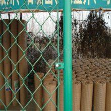 镀锌勾花护栏网 矿用支架网 学校隔离栏