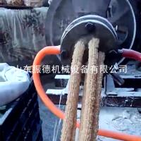 新型花生形膨化机 大米杂粮江米棍机 谷物膨化机 振德牌