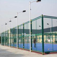 安阳不锈钢篮球场围网制造厂家 《国帆》网球场围网