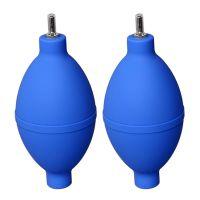PVC材料无臭味吹风球 天蓝色环保不锈钢吹嘴吹气球 相机单反翰柏尔清洁气吹气球