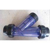 中西(LQS促销)PVC材质Y型过滤器 DN40 型号:M251974库号:M251974