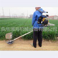 背负式小型收割机 割草机视频 汽油收割机图片