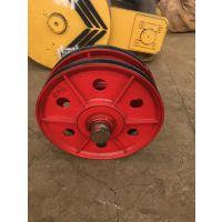 起重机滑轮组,带轴承带夹轮,32T轧制滑轮组,图纸制造,亚重