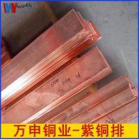 国标电解铜板紫铜 现货t2紫铜排 防静电接地镀锡铜母排