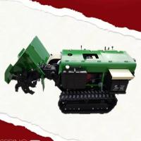 柴油电动开沟机 启航小型果园除草犁地机 大功率开沟培土机