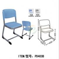辅导班椅子学生会议椅加厚塑料培训椅塑钢椅子简约听课椅
