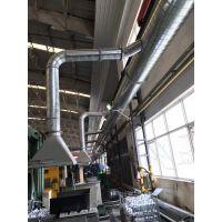 江门旭丰专业安装通风排烟管道/排油烟净化过滤工程/水喷淋过滤