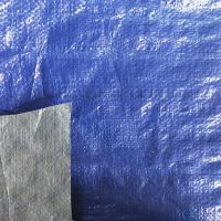 蓝银pe防雨帆布 耐磨防水180gpe布 三防帆布厂家