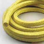 WH-260芳纶纤维盘根,杜邦芳纶盘根,耐磨纤维盘根