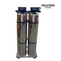 生活饮用水地下水井水1T/H三级净水器过滤净化设备 304不锈钢防腐材质晨兴制造