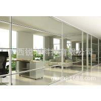 广西厂家直销透明玻璃隔断墙 适用于会议室办公室浴室等