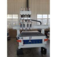 木工加工中心雕刻机圆盘换刀cnc板式家具全自动数控排钻开料机