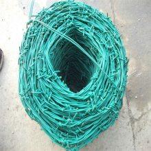 热镀锌钢丝网 护栏刺网安装 铁蒺藜一延米