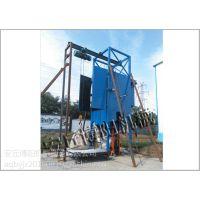 博阳粉体吨袋拆包机的拆包投料工作流程