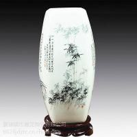 现代中式客厅装饰品电视柜摆件,景德镇大花瓶