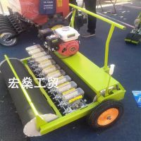 汽油蔬菜播种机 小豆豌豆中药材精播机