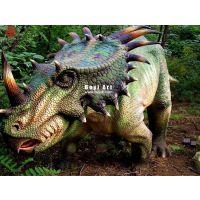 大型户外仿真恐龙布景展览|硅胶恐龙