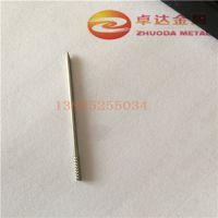 供应SUS304不锈钢毛细管 3*0.2缩圆头传感器套