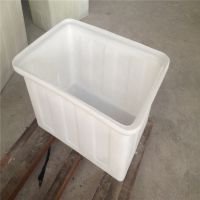 K-160L塑料方箱周转箱养殖箱塑料水箱收纳箱养鱼养龟箱水产养殖箱