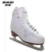 BAUD佰德正品 waltz华尔兹真皮花样冰刀鞋成人花样鞋 冰刀鞋儿童滑冰鞋冰刀速滑溜冰鞋厂家直销