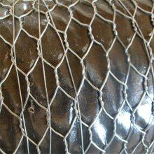 石笼网挡土墙 钢筋石笼护坡 铅丝笼石