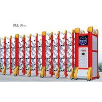 伸缩门尺寸 哈尔滨伸缩门多少钱一米 电动伸缩门 伸缩门遥控器