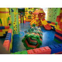 河南酷奇游乐儿童乐园大型积木王国淘气堡游乐场