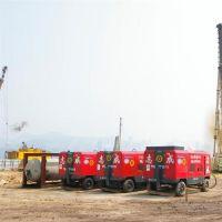 湖南涟源市21公斤21立方柴油移动式螺杆空压机出租